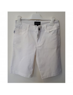 Armani Junior Short Blanco